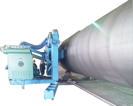 风电塔筒抛丸清理强化机